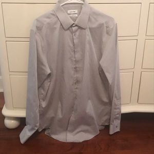 Calvin Klein button down dress shirt